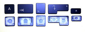Einzelne schwarze Ersatztaste Apple MacBook Pro A1278 A1286 A1297 / 2008-2012
