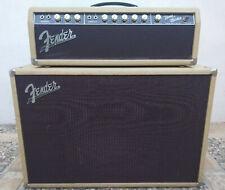 1961 Fender Bandmaster Amplifier  6g7-A / Tone Ring / Original Victoria Covers