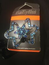 Ladies Girls Hair Claw Pin Hair Clip Blue Diamente Gift Summer Babyliss Gift