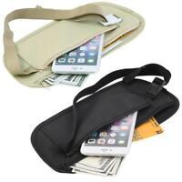 Bum Waist Bag Handy Sport Travel Money Wallet Pack Belt Zipped Pouch Hip Running
