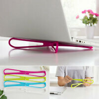 HN- KF_ Portable Outdoor Cooling Cooler Pad Stand Holder Bracket Laptop Notebook