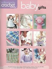 Crochet Today Baby Gifts Instruction Pattern Book NEW Booties Sweaters Blankets