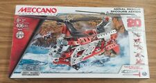 Meccano Maker Systems Aerial Rescue 406 Pieces-New