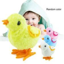 Cute Kids Wind Up Clockwork Walking Chick Plush Animals Toy Children Toys Gift