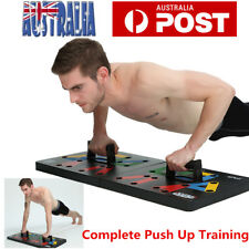 Push Up Stand Bar Board Power Press Grip Handle Muscle Training Workout Gym AU