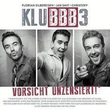 CD Album Vorsicht Unzensiert! Klubbb3 Du schaffst das schon Klub3 Klub 3 Klubbb