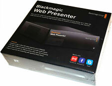 Blackmagic Design Web Presenter w/ Teranex Smart Panel NEW!