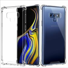 For Samsung Galaxy Note 9 TPU Clear Hard Phone Case Cover+Full Cover TPU Screen