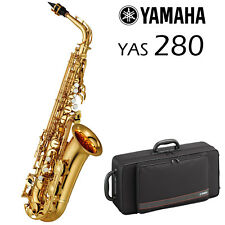 Yamaha YAS-280 Alto Saxophone | Gold Lacquer | Brand New!