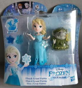 Hasbro Frozen Little Kingdom Freundeset the Ice Queen Elsa And Grand Pabbie New
