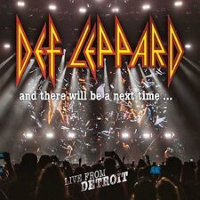 DEF LEPPARD AND THERE WILL BE A NEXT TIME 2CD & DVD ALL REGIONS NTSC DIGIPAK NEW