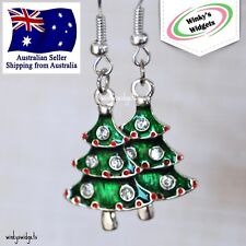 Festive Christmas Earrings - Christmas trees - Kris Kringle gift ideas