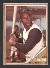 Roberto Clemente 1962 Topps Baseball #10 Pittsburgh Pirates NM