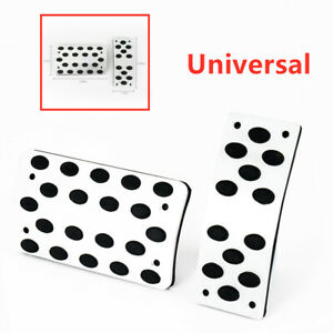 Auto Accelerator Pedal Foot Pedals Pad Cover Non-slip Style For Brake Clutch 2p
