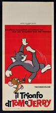 Affiche Il Triomphe De Tom Et Jerry Hanna Barbera Cartoon Mgm Animation N61