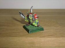 Warhammer Fantasy orcos & goblins Duende campeón-metal fuera de la noche