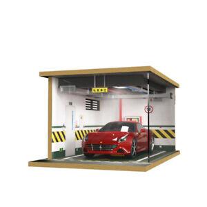 1:18 Parking Garage Model Scene Simulation Car Model Parking Lot Belt Lighting