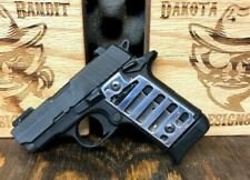 Sig Sauer P238 Skelitonized Aluminum Custom Polished Grips