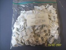 YLG Clothing Size Tag label Qt 500 New