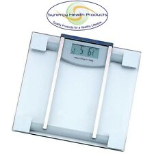 HealthSmart Glass Electronic Body Fat Scale - EXPEDITED SHIPPING - CLOSEOUT