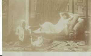 ARTIST GOODALL - A NEW LIFE IN THE HAREM VINTAGE POSTCARD BUY 5 GET 50% OFF