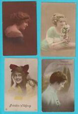 AK Ansichtskarten Postkarten Frauenporträt Lot 13 Karten