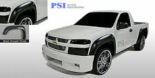 BLACK PAINTABLE Extension Fender Flares 2004-2012 Chevrolet Colorado GMC Canyon