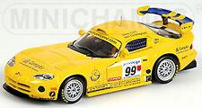 DODGE VIPER GTS-R BRITISH GTC 1999 Clark Cunningham #99 1:43 MINICHAMPS