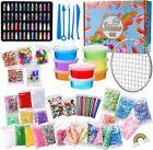 Schleim Selber Machen DIY Schleim Kit Slime Kit Kinder 8 Farben Glitzer Kleben