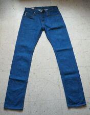 Big John M106D 10067 Japan Selvedge Blue Denim Jeans Indigo X Indigo Men's 31