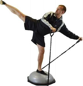 Balance Dome mit 2 Iwederstandsbänder. Balance Board. Kraft-Stabilitäts Training