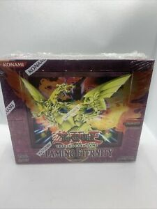 Yu-Gi-Oh Flaming Eternity First Edition Factory Sealed Box