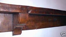Mantel chêne étagère faisceau mantelshelf Traditionnel Vieux Bois Chalet cheminée Replica