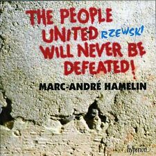 People United Will Never Be Defeated!  (1999, CD NIEUW) Hamelin*Marc-Andre (PNO)