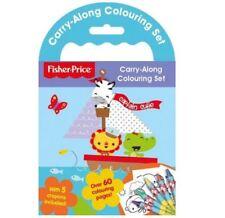 Fisher Price Transportable Carnet de Coloriage Livre D'Activités - Nouveau
