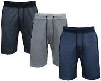 Mens Summer Sports Running GYM Training Elastic Jogging Fleece Short S - XXL