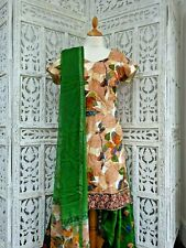 Soft cotton printed salwar kameez  bollywood - UK  18 /EU 44 SKU15601