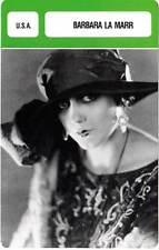FICHE CINEMA :  BARBARA LA MARR -  USA (Biographie/Filmographie)