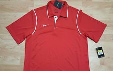 Nike Gung Ho Polo (476281) Men's Dri-Fit golf polo Size Small Red