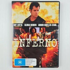 Inferno DVD (Pilgrim) 2000 - Ray Liotta - Region 4 - TRACKED POSTAGE