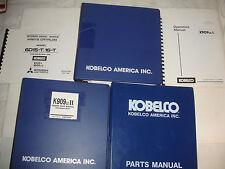 Kobelco K909 K909-II 909LC-II Excavator SHOP MANUAL PARTS Catalog Service Engine