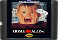 Home Alone (1992) 16 Bit Game Card Cartridge For Sega Genesis Mega Drive System