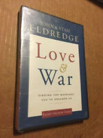 "NEW/SEALED MARRIAGE HELP DVD - ""LOVE & WAR"" - JOHN & STASI ELDGEDGE"