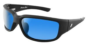 Bimini Bay Polarized Sunglasses MB-BB4SB Smoke Blue Lens Fishing Beach Outdoors