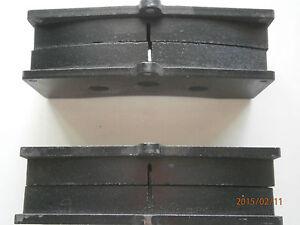 PAGID BRAKE PADS FERRARI 360 CHALLENGE 99- FRONT U1896 RS16  F4R - STEEL ROTORS