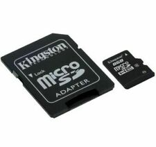 Kingston 8GB MicroSDHC Memroy Card Class 4 8GB TF Card With SD Adapter Genuine