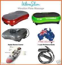 Ultra Slim Vibration Plate Platform Whole Body Shaper Exercise Fitness Massage