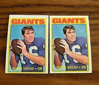1972 Topps #118 Norm Snead -Giants  (2)