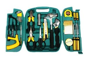 27 piece Set Emergency Hardware Safety Tool Set Car Home Box Repair Combination