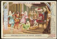 France History Pirate Jean Bart Court Louis XIV  c1910 Trade Ad  Card